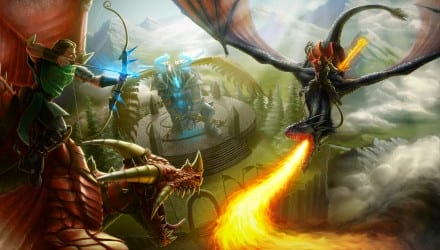 MOBA Dragons and Titans chega à Steam